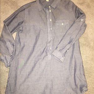 Ladies size S chambray tunic